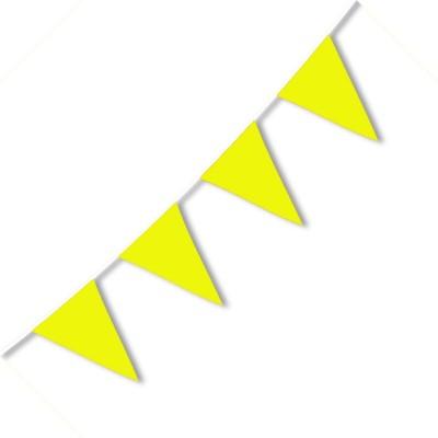 Festone PVC Monocolore Giallo 10 mt