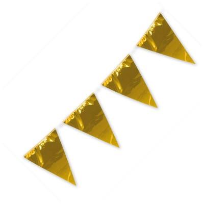 Festone PVC Monocolore Oro 10 mt