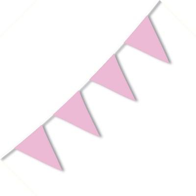 Festone PVC Monocolore Rosa 10 mt