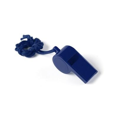 Fischietto in plastica azzurro