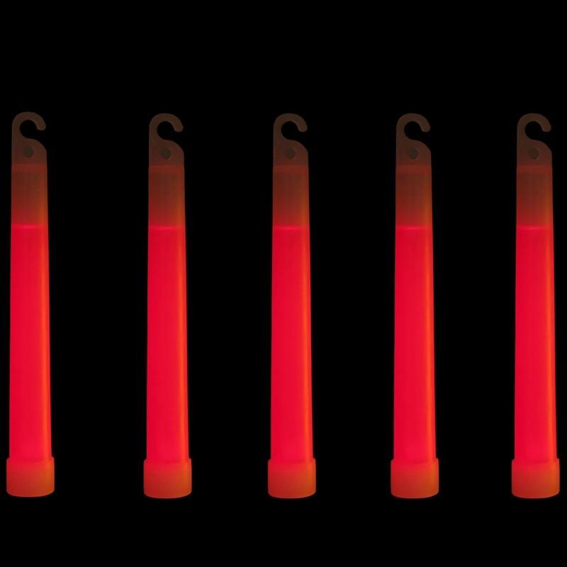 Glow stick cm 15 rosso