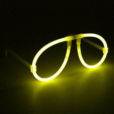 Kit 50 Occhiali luminosi gialli