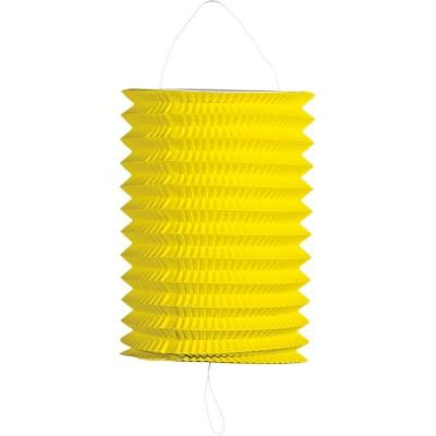 Lanterna carta cilindrica gialla