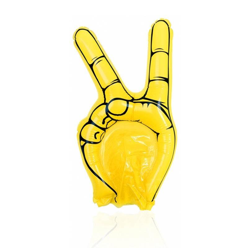 Mano gonfiabile gialla