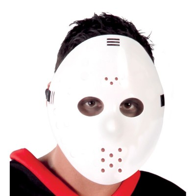 Maschera Hockey Bianca