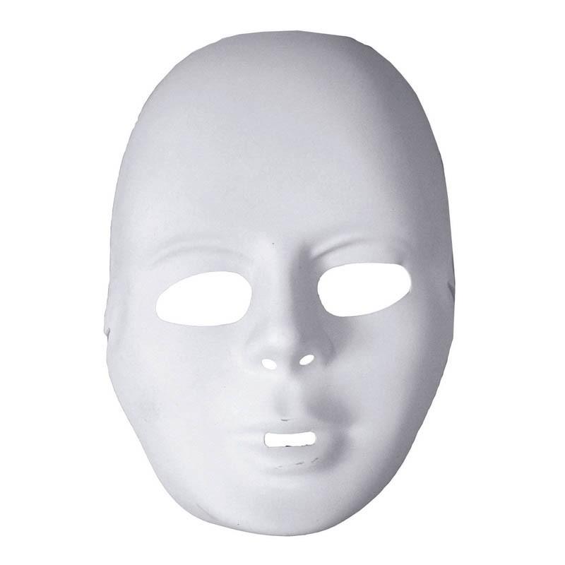 Maschera Viso Bianco