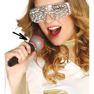 Microfono in plastica