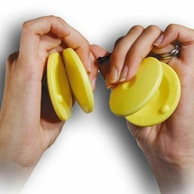Nacchere in plastica - 1 coppia