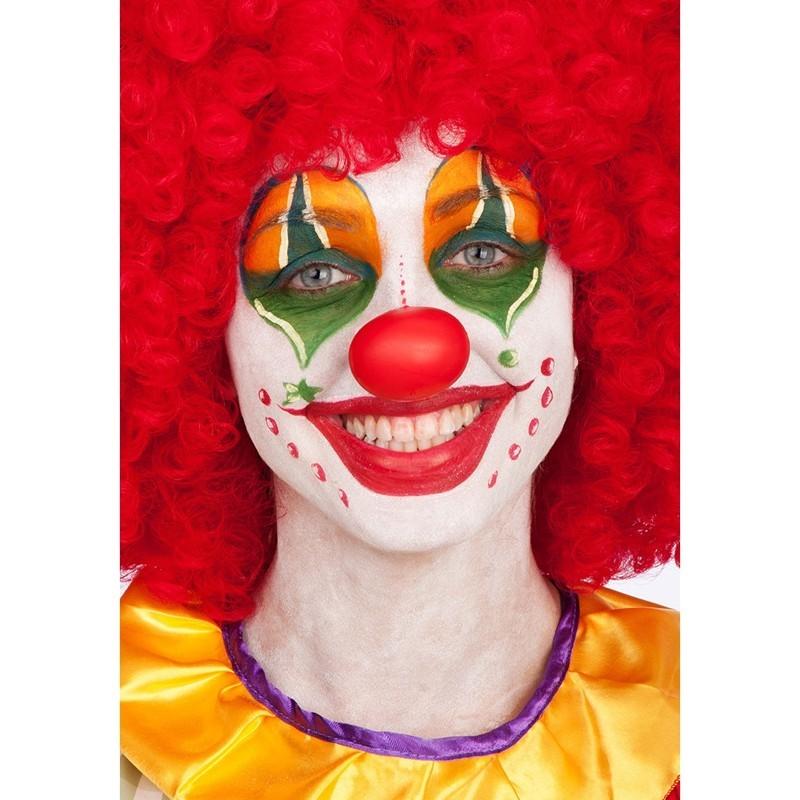 Naso clown plastica morbida - 1 pz