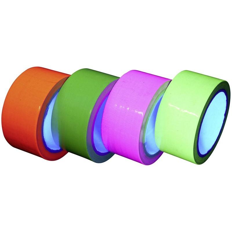 Nastro adesivo fluo reagente agli UV