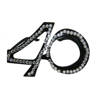 Occhiali Party 40 anni