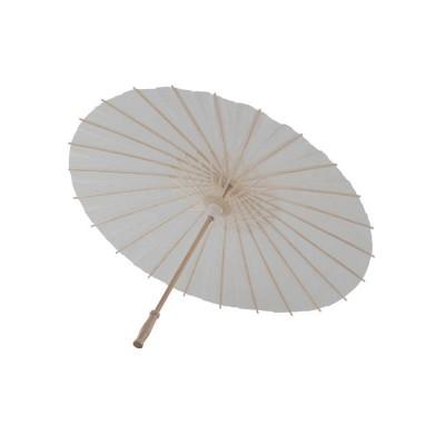 Ombrello Carta Cinese Bianco