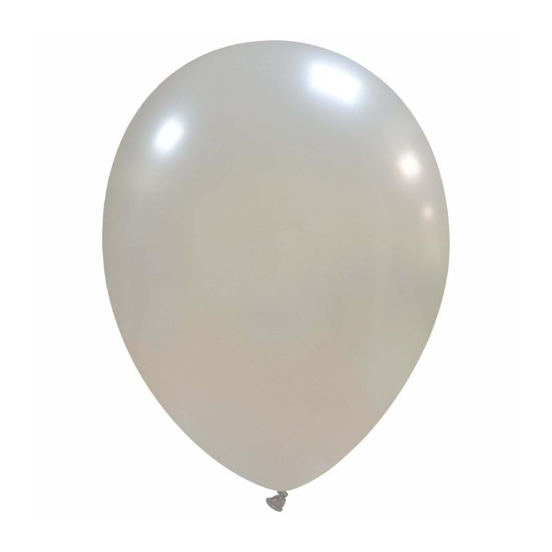 Palloncini cm 30 argento - 25 pz