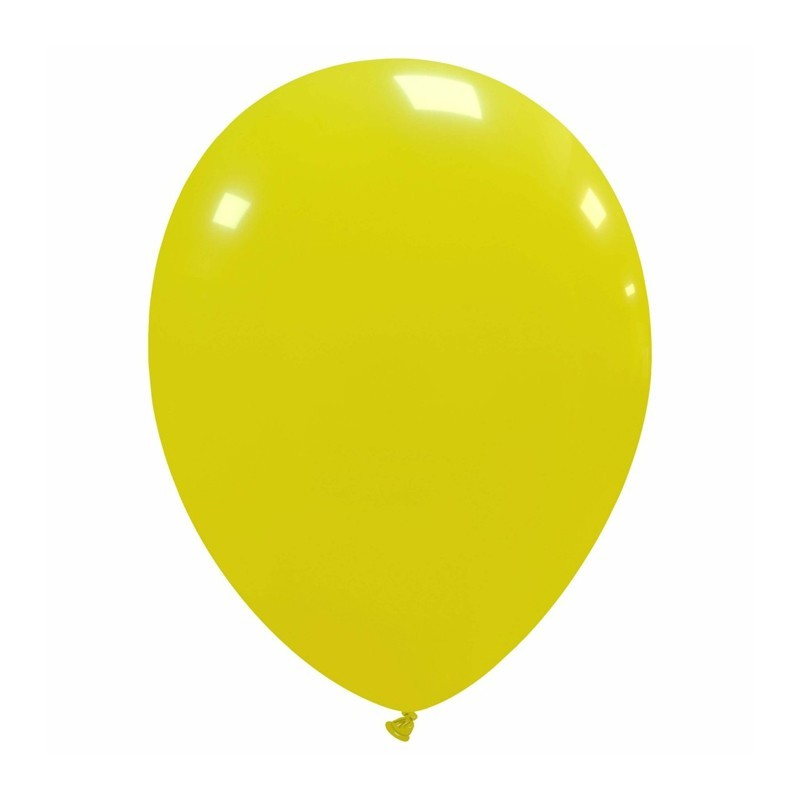 Palloncini cm 30 giallo - 25 pz