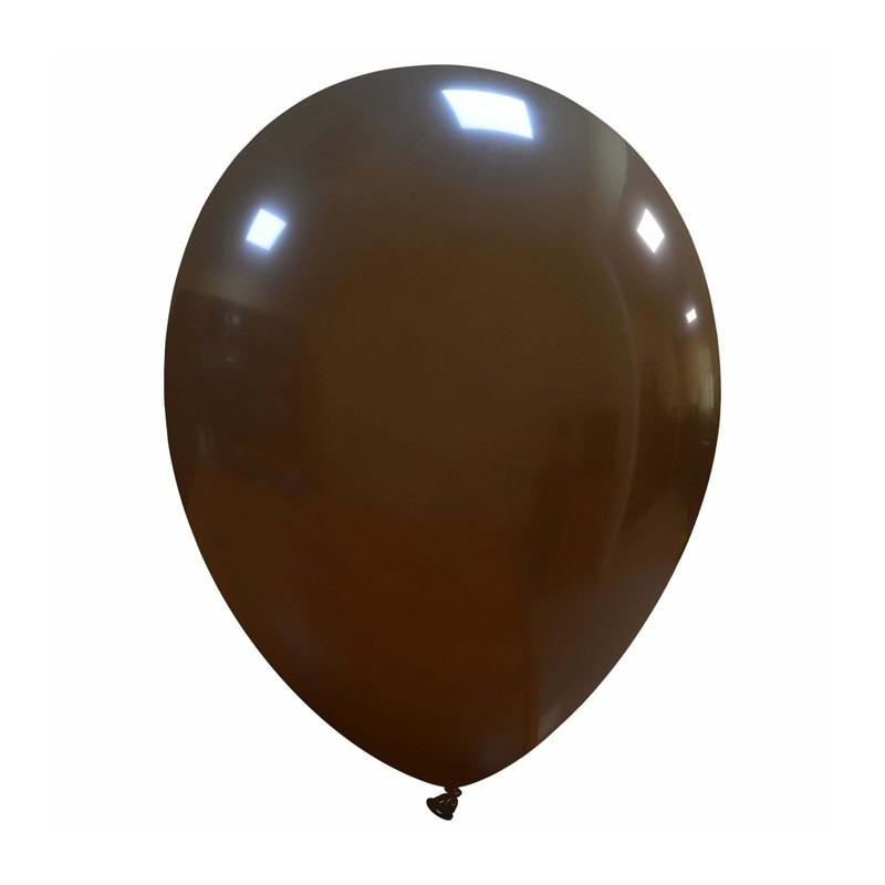 Palloncini cm 30 marrone - 25 pz