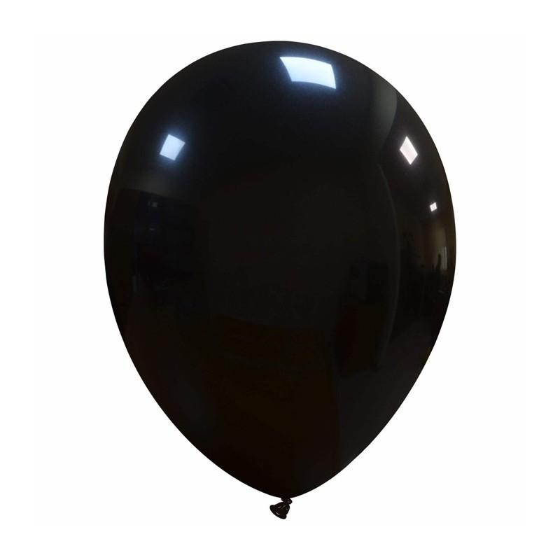 Palloncini cm 30 neri - 25 pz