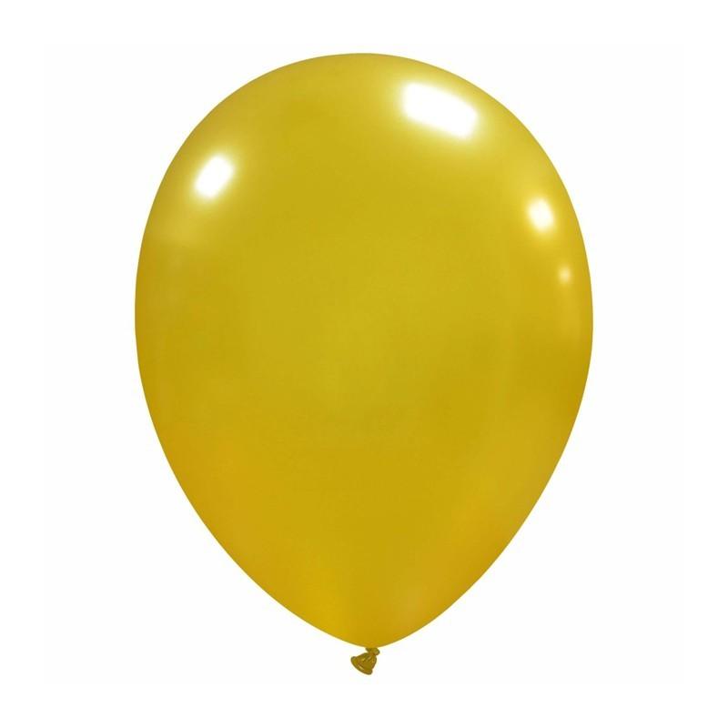 Palloncini cm 30 oro - 25 pz