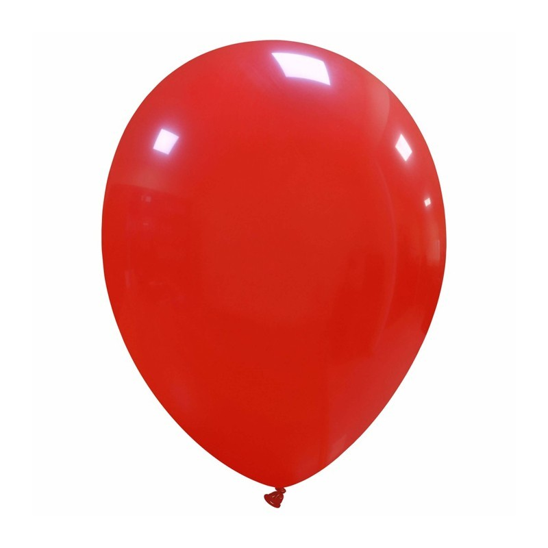 Palloncini cm 30 rossi - 25 pz