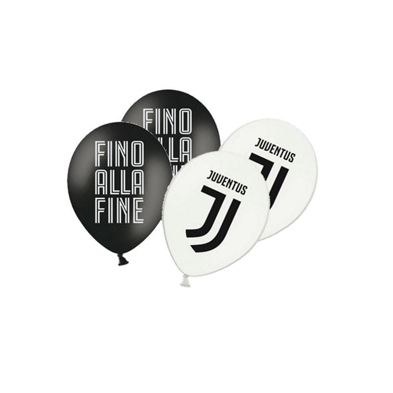 Palloncini Decoro Juventus Originale - 12 pz