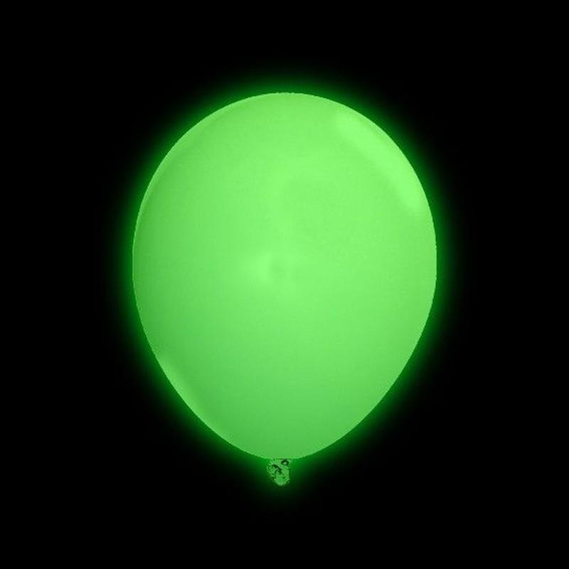 Palloncini Luminosi Verdi - 5 pz