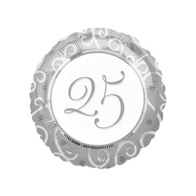 Palloncino mylar 25 argento