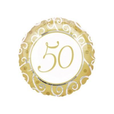 Palloncino mylar 50 oro