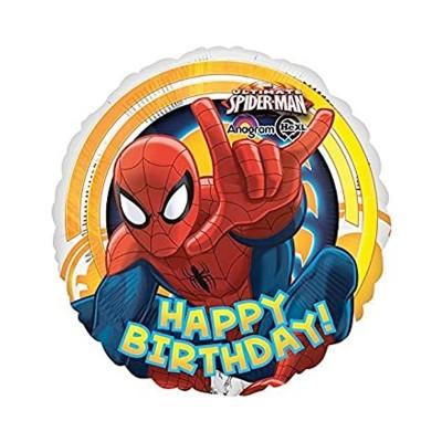 Palloncino Mylar Spiderman cm 45