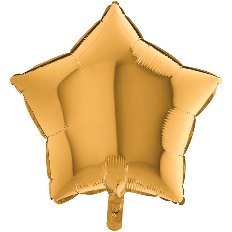 Palloncino Mylar Stella Oro 90 cm