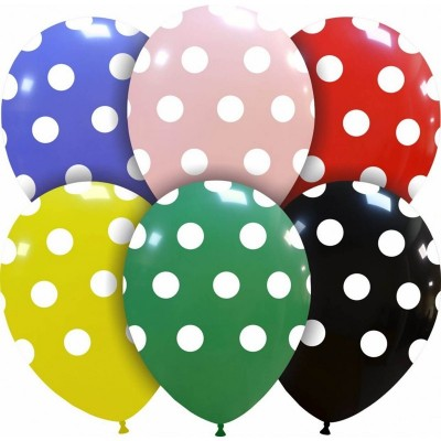 Palloncino stampa Pois