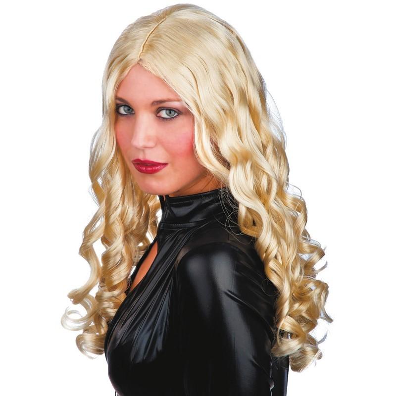 Parrucca lunga Mossa Bionda