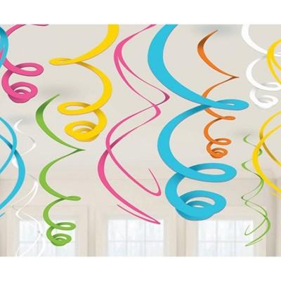 Pendenti Swirl Spirale - 12 pz