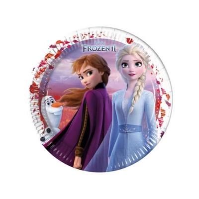 Piatti Frozen II 23 cm - 8 pz