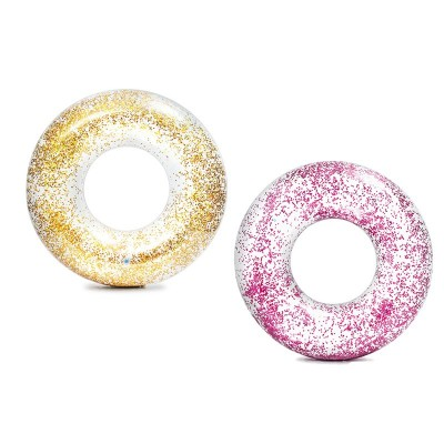 Salvagente Trasparente Glitter