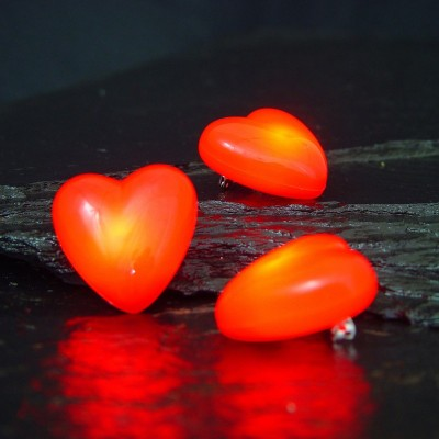 Spilla Cuore Rosso Led