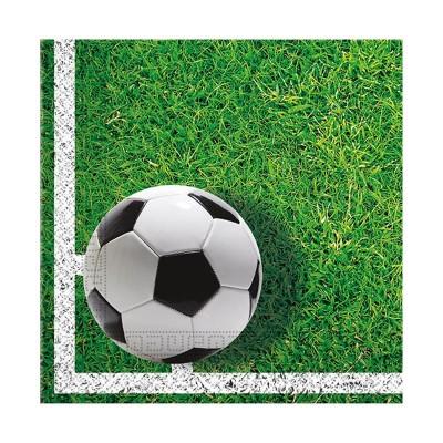 Tovaglioli Calcio - 18 pz
