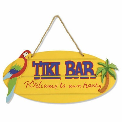 Tiki Bar in legno