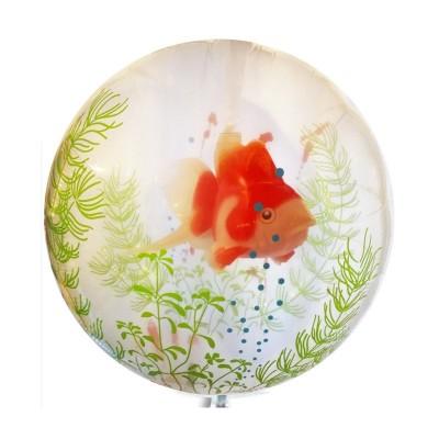 Palloncino doppio con Pesce Rosso