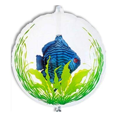 Palloncino doppio con Pesce Blue