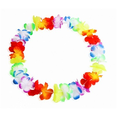 Collana hawaiana multicolor