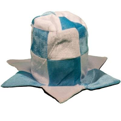Cappello a cilindro biancoceleste