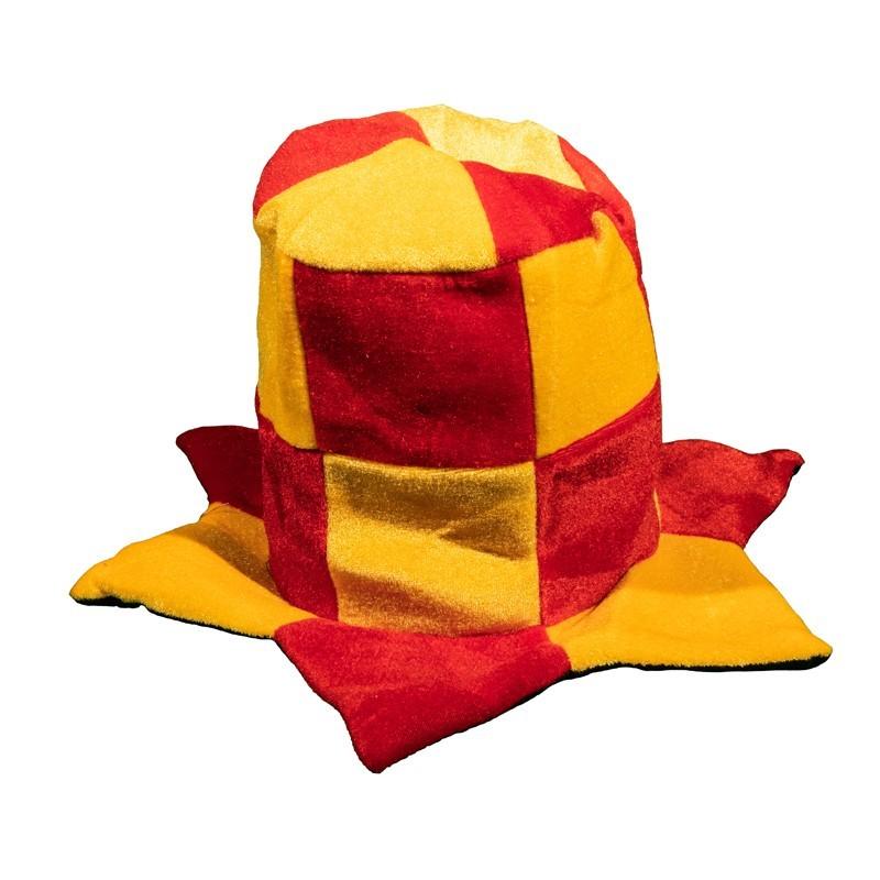 Cappello a cilindro giallorosso