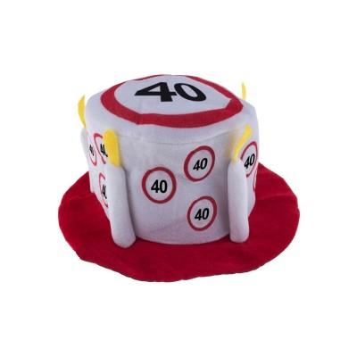 Cappello compleanno 40 ANNI