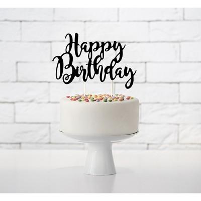 Cake Topper Happy Birthday Nero