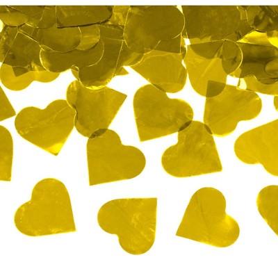 Sparacoriandoli cm 60 cuori oro