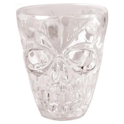 Bicchieri cicchetto teschio - 4 pz