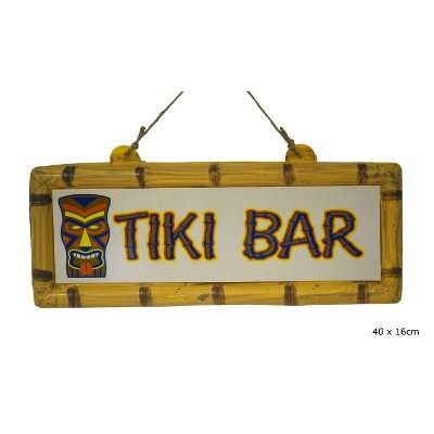 Tiki Bar in plastica