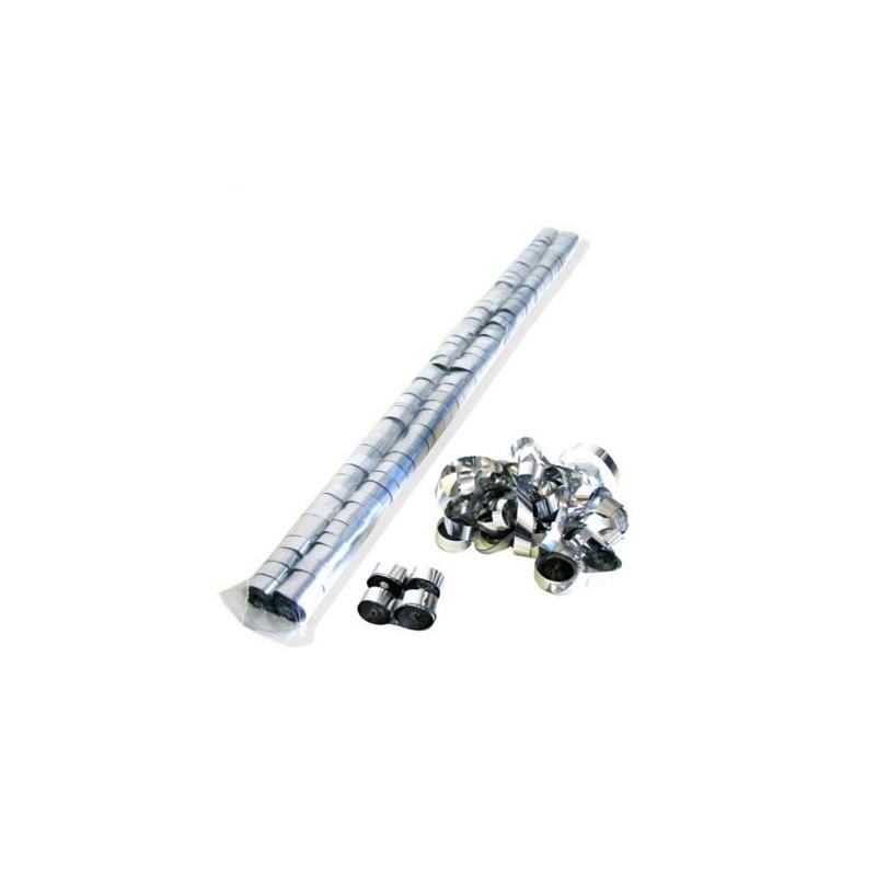 Stelle filanti sciolte argento 5mx1cm