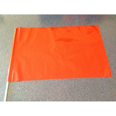 Bandierina PVC Rossa 60 x 40 cm